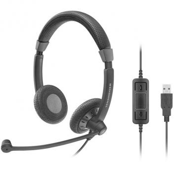 SC70 USB MS Dual-Sided Wideband Usb Corded Headset