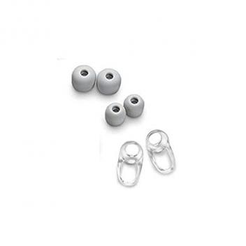 Plantronics Spare ear tips and stabillizer S for BackBeat GO2 (White)