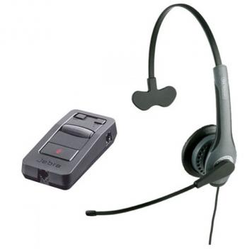 Jabra GN2010 Mono Corded Headset with LINK 850 Amp