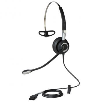 Jabra BIZ 2400 II 3 in 1 Mono Corded Headset with Noise-Cancelling Microphone