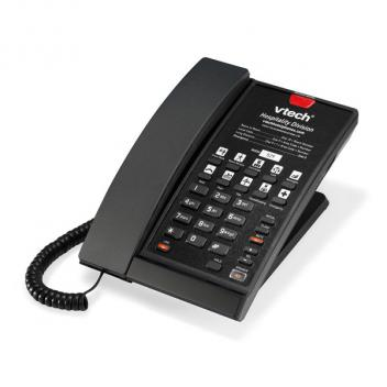 Vtech VTH-S2210-L-MB Wall Mountable SIP 1 Line Corded phone - Black