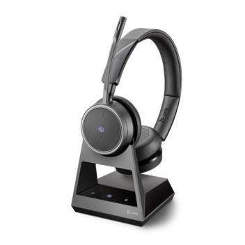 Plantronics Voyager 4220 USB-A 2-Way Base Office Wireless Bluetooth Headset