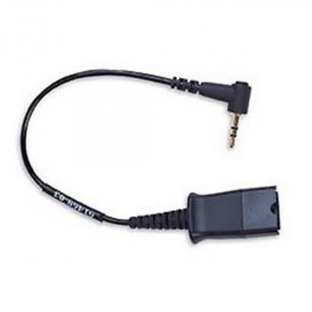 Jabra Cellphone adapter for GN headsets (QD to 2.5mm stereo plug)