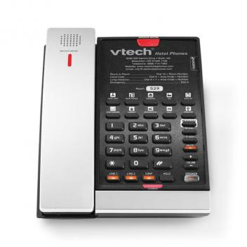 Vtech VTH-CTM-S2421-SB Expandable SIP 2-Line Cordless Phone - Silver